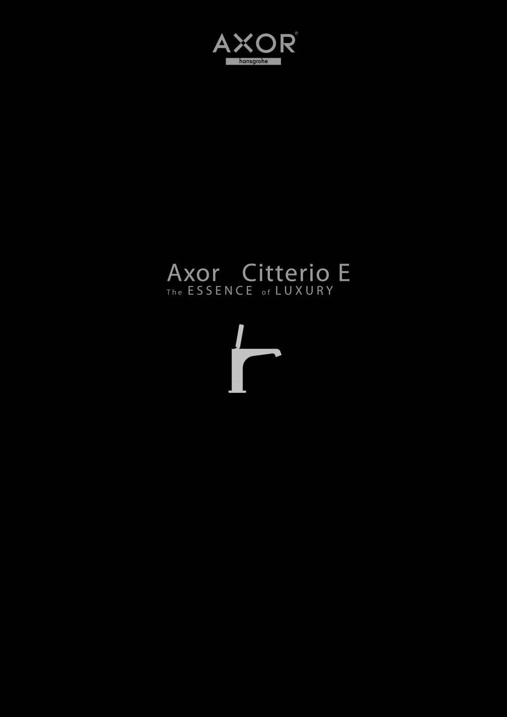 Axor - Citterio E