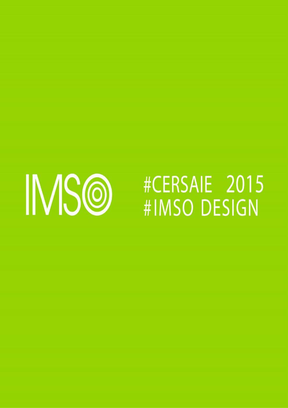 Imso - novinky Cersai 2015
