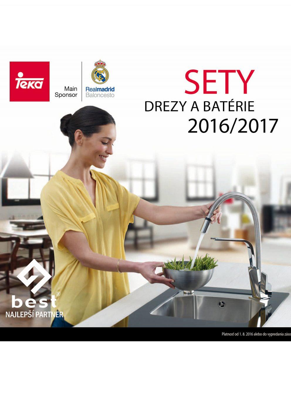 Teka Drezy a batérie 2016/2017