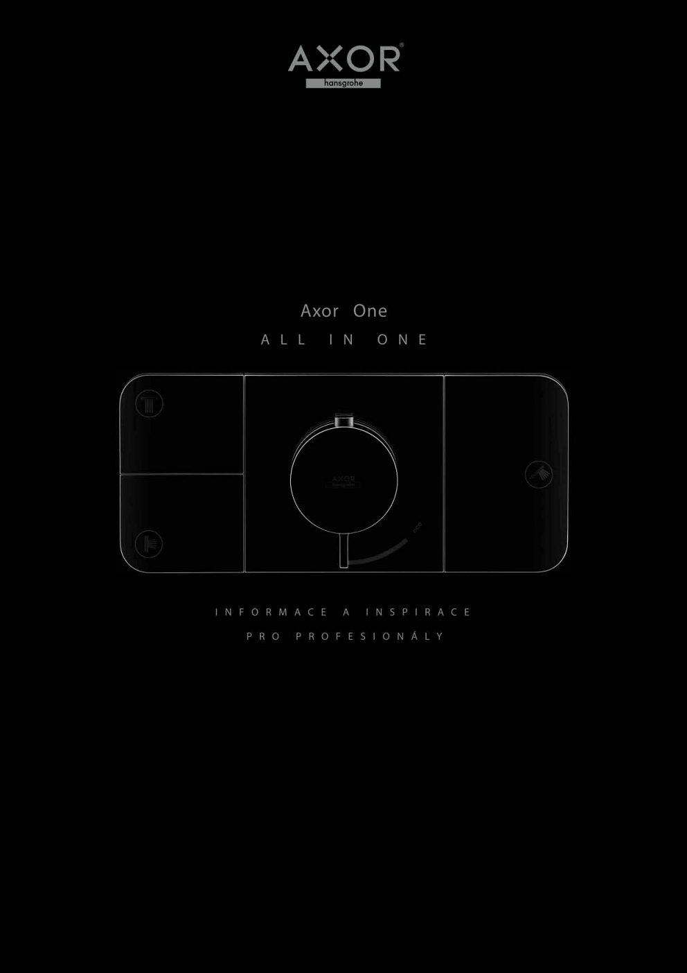AXOR - Plánovanie kúpeľne ONE