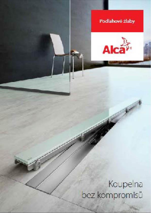 AlcaPlast - Podlahové žľaby