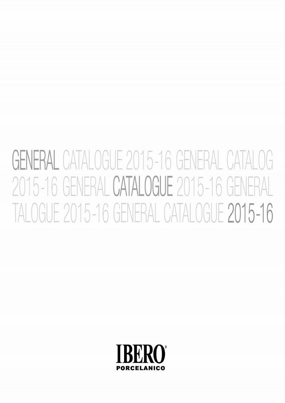 Ibero - generálny katalóg 2016