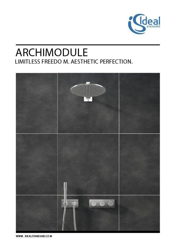 Ideal Standard - Archimodule Brochure