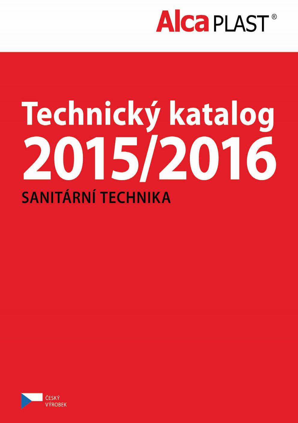AlcaPlast - Technický katalóg 2015-2016