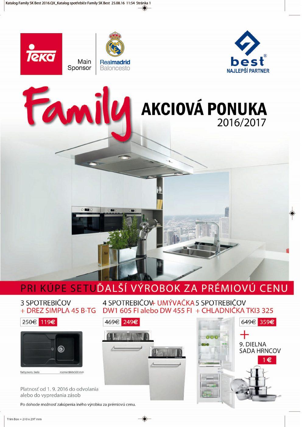 TEka - Family akciová ponuka 2016/2017