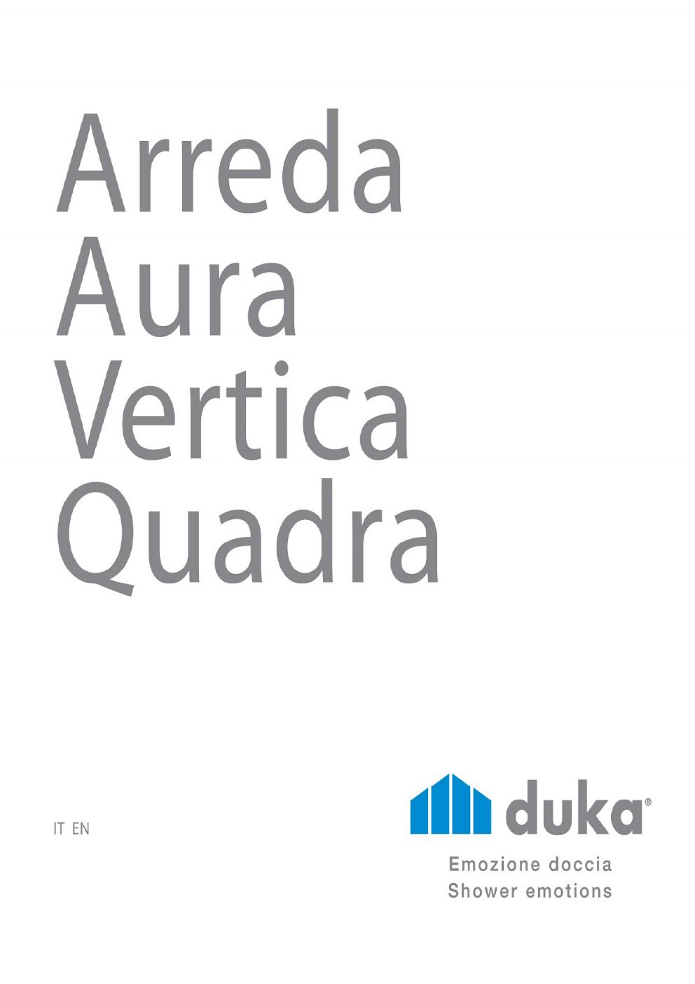 DUKA - Produktový katalóg