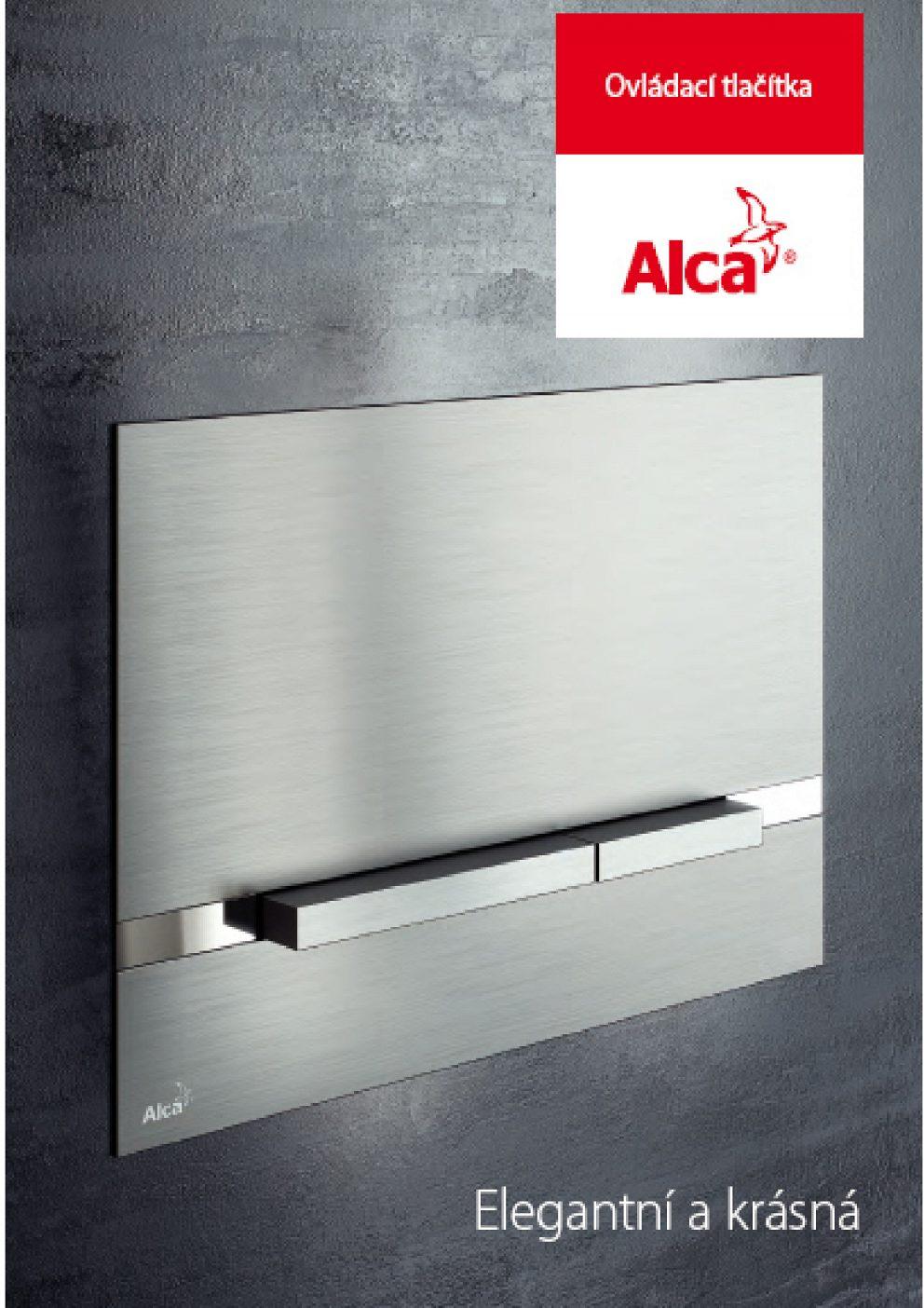 AlcaPlast - Ovládacie tlačítka