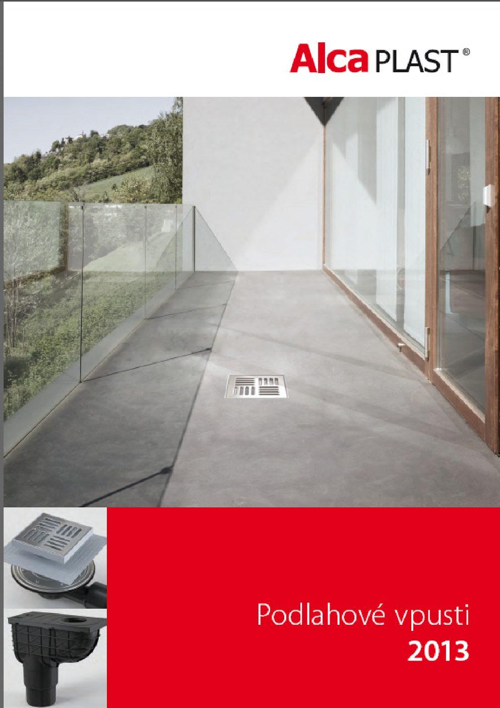 AlcaPlast - Podlahové vpuste