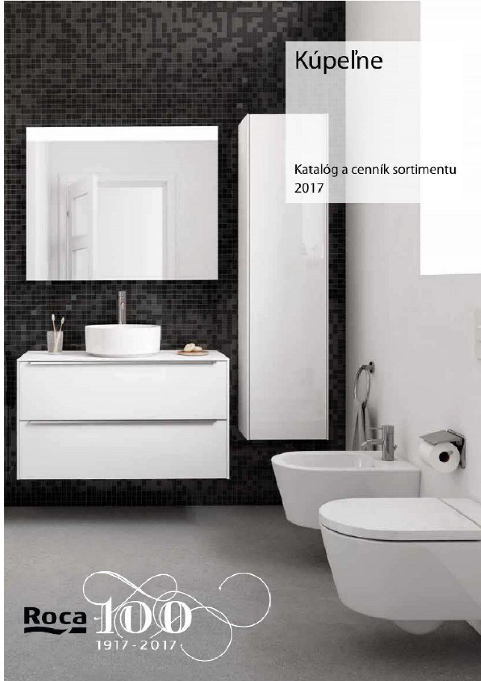 Roca - Katalóg a cenník 2017
