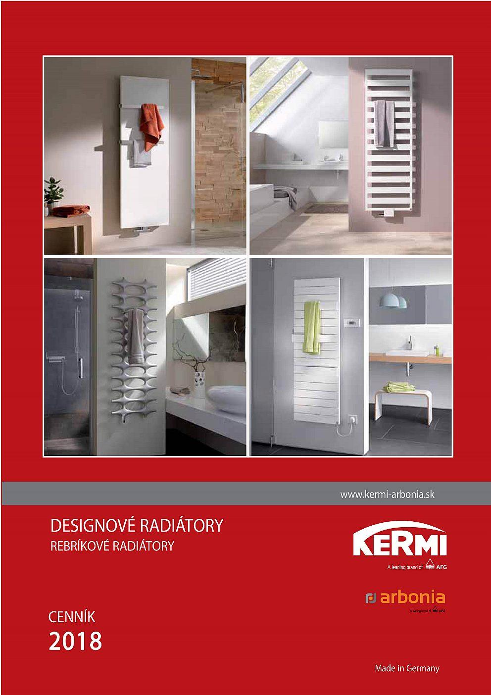Kermi - Deignové radiatory 2018