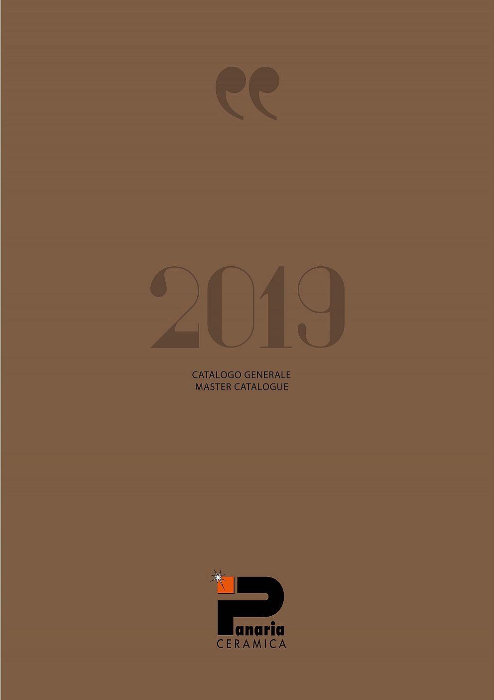 Panaria - Generálny katalóg 2019